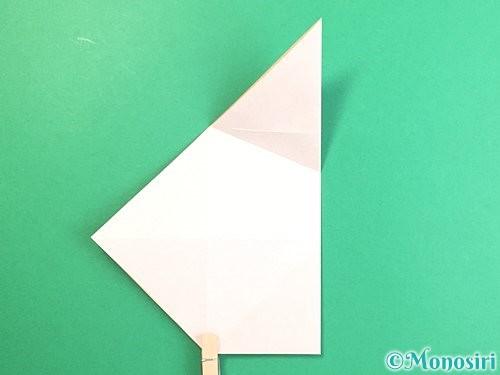 折り紙で立体的な羊の折り方手順10