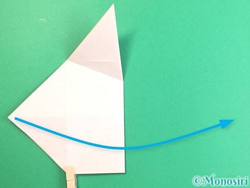 折り紙で立体的な羊の折り方手順11