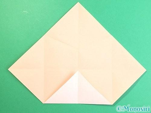 折り紙で立体的な羊の折り方手順12