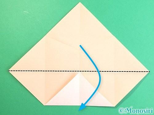 折り紙で立体的な羊の折り方手順13