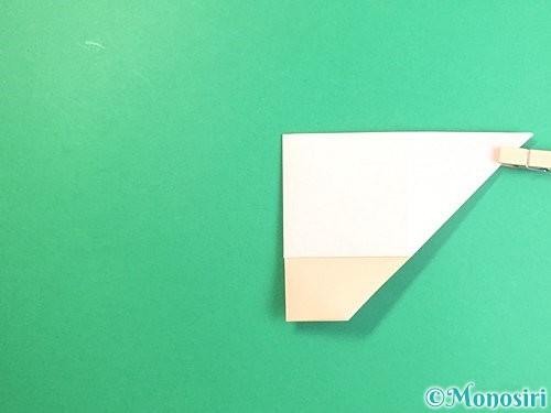 折り紙で立体的な羊の折り方手順18