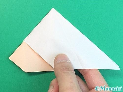 折り紙で立体的な羊の折り方手順22