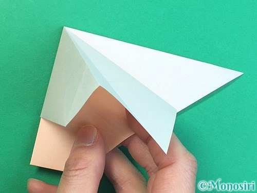 折り紙で立体的な羊の折り方手順24