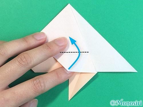 折り紙で立体的な羊の折り方手順28