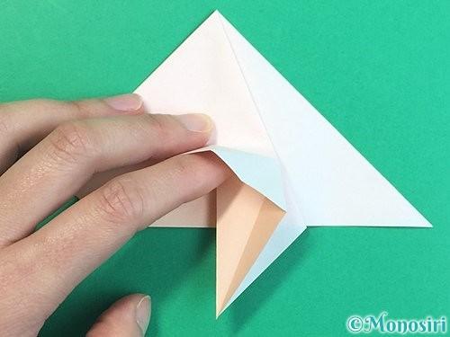 折り紙で立体的な羊の折り方手順29