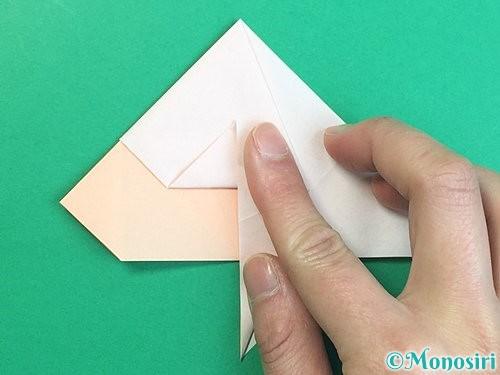 折り紙で立体的な羊の折り方手順32