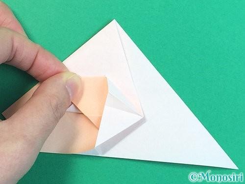 折り紙で立体的な羊の折り方手順40