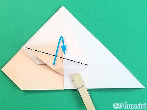 折り紙で立体的な羊の折り方手順42