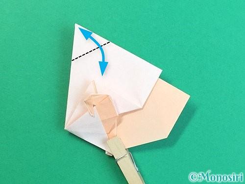 折り紙で立体的な羊の折り方手順66