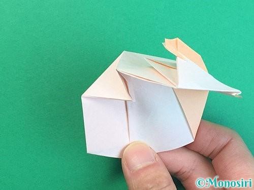 折り紙で立体的な羊の折り方手順70