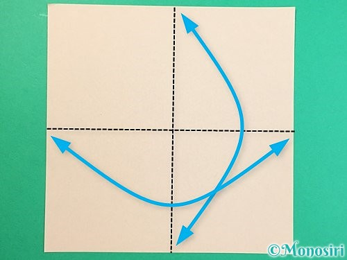 折り紙で立体的な羊の折り方手順72