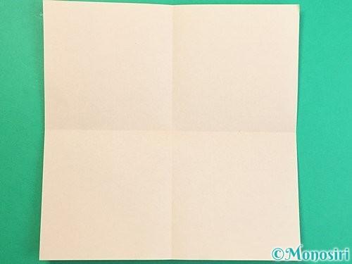 折り紙で立体的な羊の折り方手順73