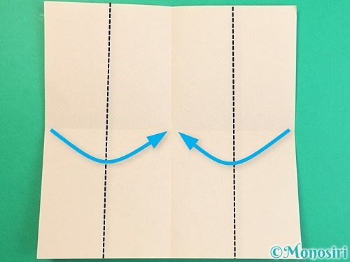 折り紙で立体的な羊の折り方手順74