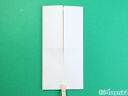 折り紙で立体的な羊の折り方手順75