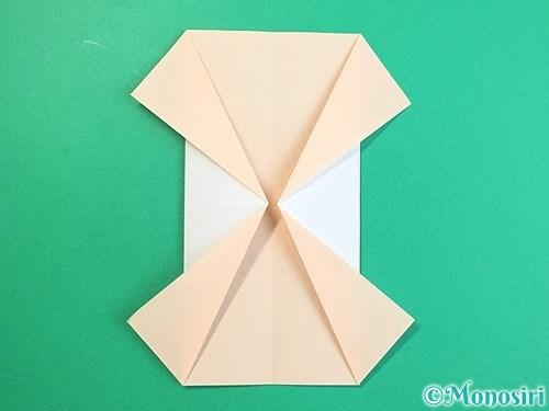 折り紙で立体的な羊の折り方手順77