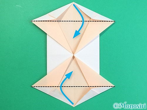 折り紙で立体的な羊の折り方手順80