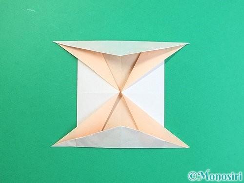 折り紙で立体的な羊の折り方手順81