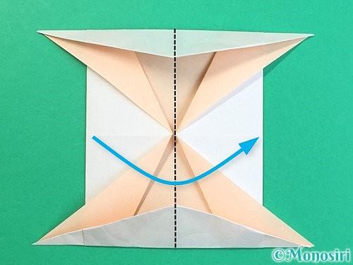 折り紙で立体的な羊の折り方手順82