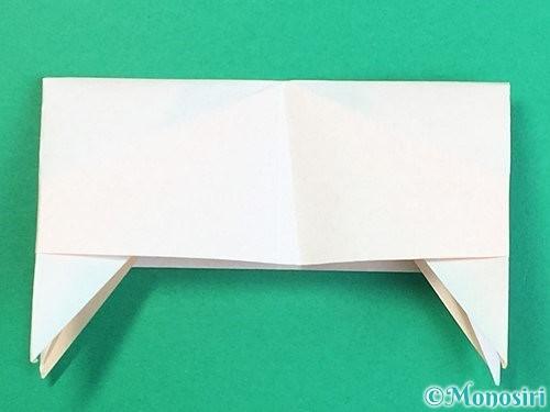 折り紙で立体的な羊の折り方手順85
