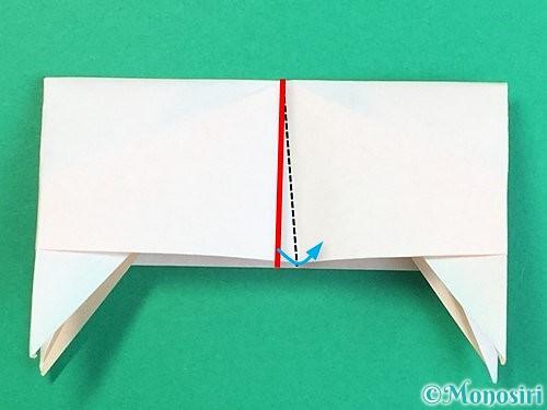 折り紙で立体的な羊の折り方手順86