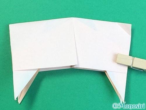 折り紙で立体的な羊の折り方手順90
