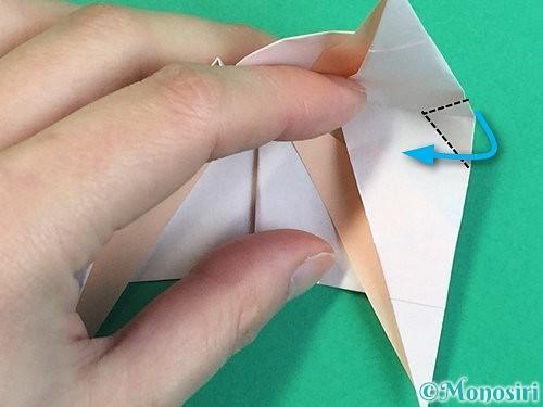 折り紙で立体的な羊の折り方手順92