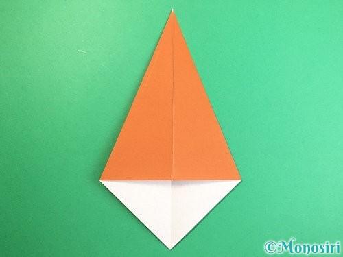 折り紙で立体的な猿の折り方手順4