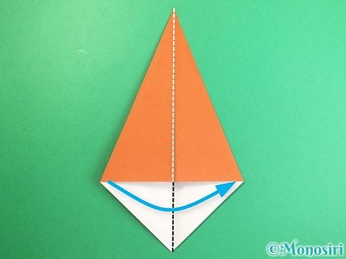 折り紙で立体的な猿の折り方手順5