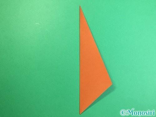 折り紙で立体的な猿の折り方手順6