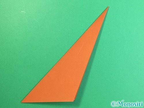 折り紙で立体的な猿の折り方手順7