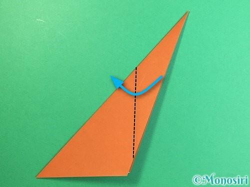 折り紙で立体的な猿の折り方手順8