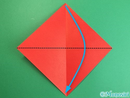 折り紙でにわとりの折り方手順3