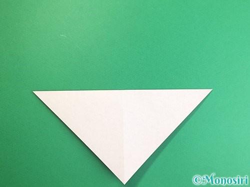 折り紙でにわとりの折り方手順4
