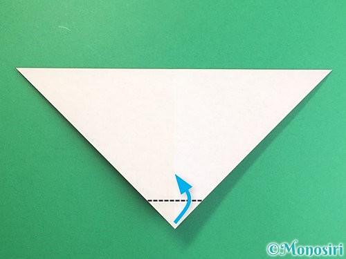 折り紙でにわとりの折り方手順5