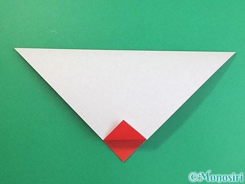 折り紙でにわとりの折り方手順6