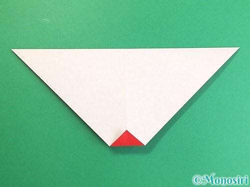 折り紙でにわとりの折り方手順7