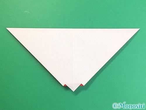 折り紙でにわとりの折り方手順9