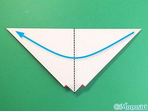 折り紙でにわとりの折り方手順10