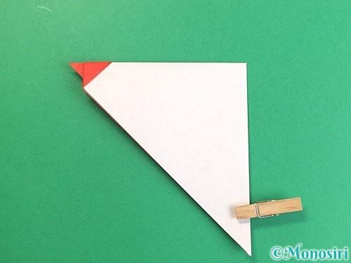 折り紙でにわとりの折り方手順11