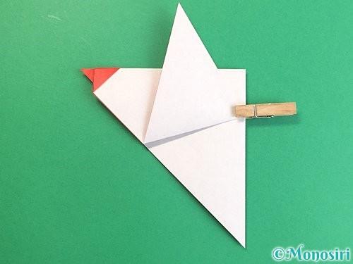 折り紙でにわとりの折り方手順13