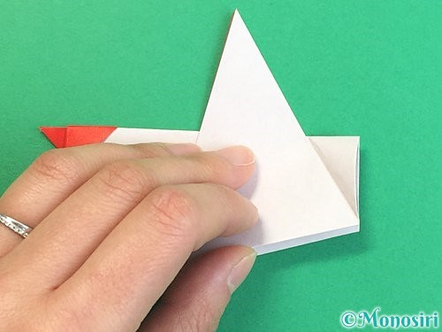 折り紙でにわとりの折り方手順18