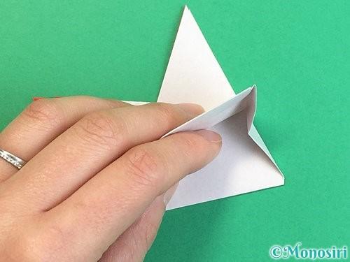 折り紙でにわとりの折り方手順20