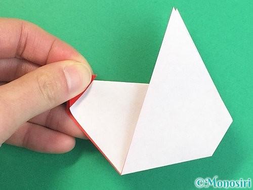 折り紙でにわとりの折り方手順26