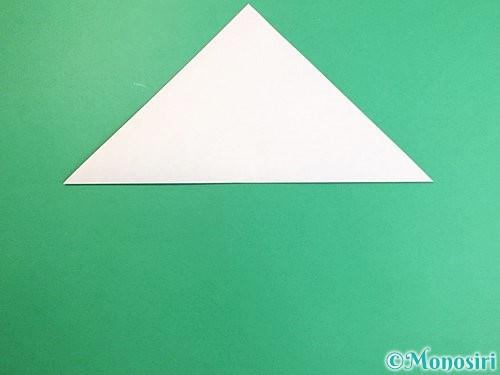 折り紙で立体的なにわとりの折り方手順2