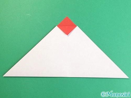折り紙で立体的なにわとりの折り方手順4