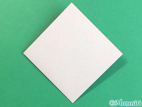 折り紙で立体的なにわとりの折り方手順7