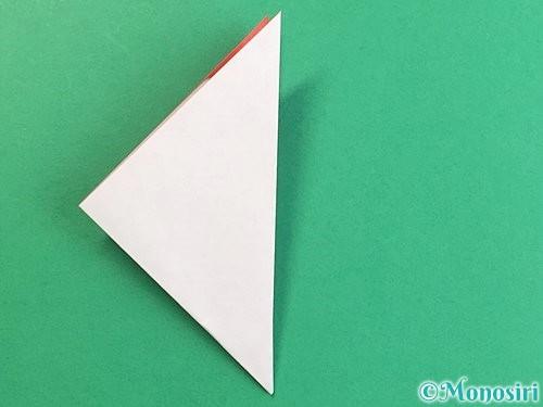 折り紙で立体的なにわとりの折り方手順9