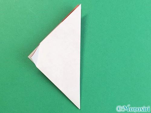 折り紙で立体的なにわとりの折り方手順11