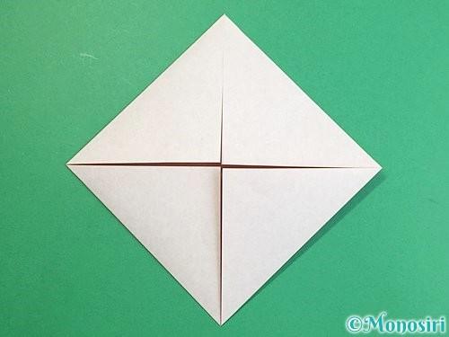 折り紙で立体的な猪の折り方手順4