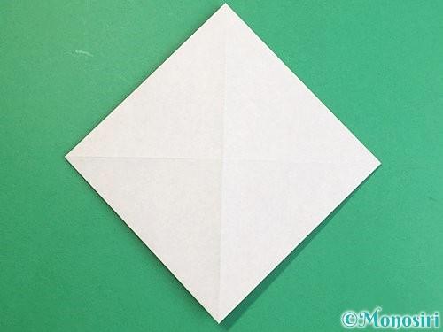 折り紙で立体的な猪の折り方手順5
